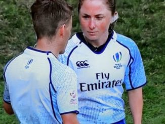 women's 6 nations referee Aimee Barrett