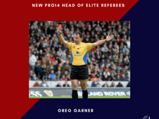 Greg Garner Head of Elite Referees at PRO14
