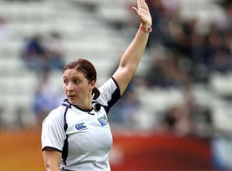 Claire Hodnett - First female Premiership TMO